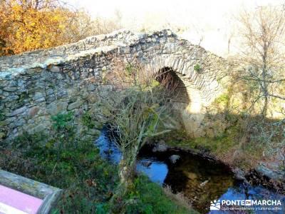 La Cachiporrilla - Altos del Hontanar; senderismo sierra norte madrid; caminatas por madrid;romanico